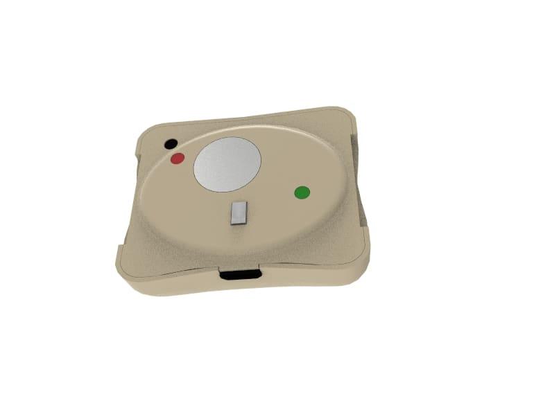 Render of the sensor (back)